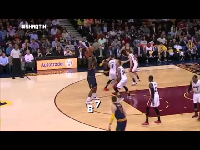 Shaqtin A Fool: Uncalled Traveling (April 14)