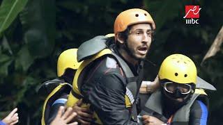 بالفيديو والصور- طول قامة أحمد حجازي كاد أن يفسد مقلب