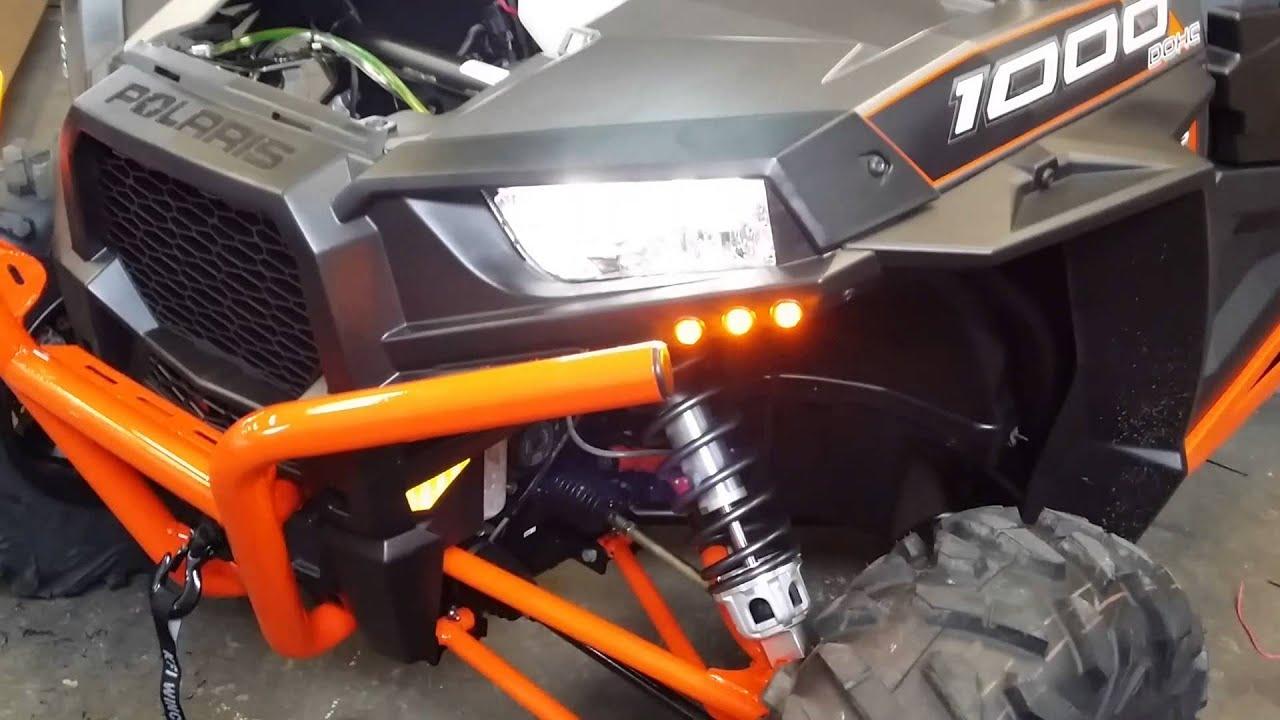 Ryco Moto Turn Signal Kit Xp1000 Youtube