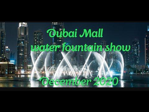 Dubai Mall water fountain show 2020  /Dancing fountain show