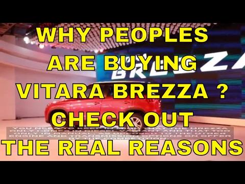 Why People Are Buying Maruti Suzuki Vitara Breza ? Check Out The Real Reasons