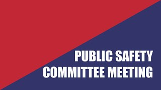 Virtual Public Safety Commission Meeting of July 8, 2020
