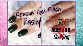 How To: Easily Remove Gel Polish! - NO ACETONE!