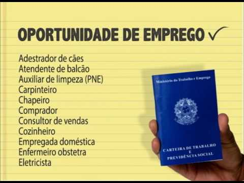 (JC 08/11/16) Oportunidades de Emprego do Sine