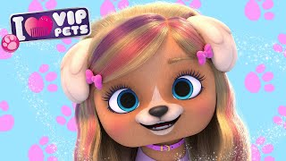 JULIET  VIP PETS  NEW HAIR, LET'S DARE!  CARTOONS and VIDEOS for KIDS in ENGLISH