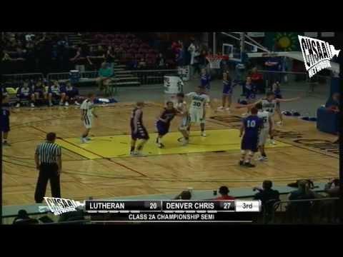 2012 CHSAA Boys Class 2A Semifinal - Denver Christian Vs Lutheran