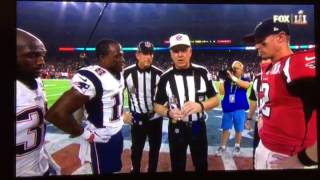 First Ever Super Bowl Overtime Coin Toss