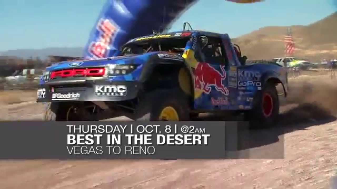 "Best In The Desert ""Vegas To Reno"" promo - YouTube"