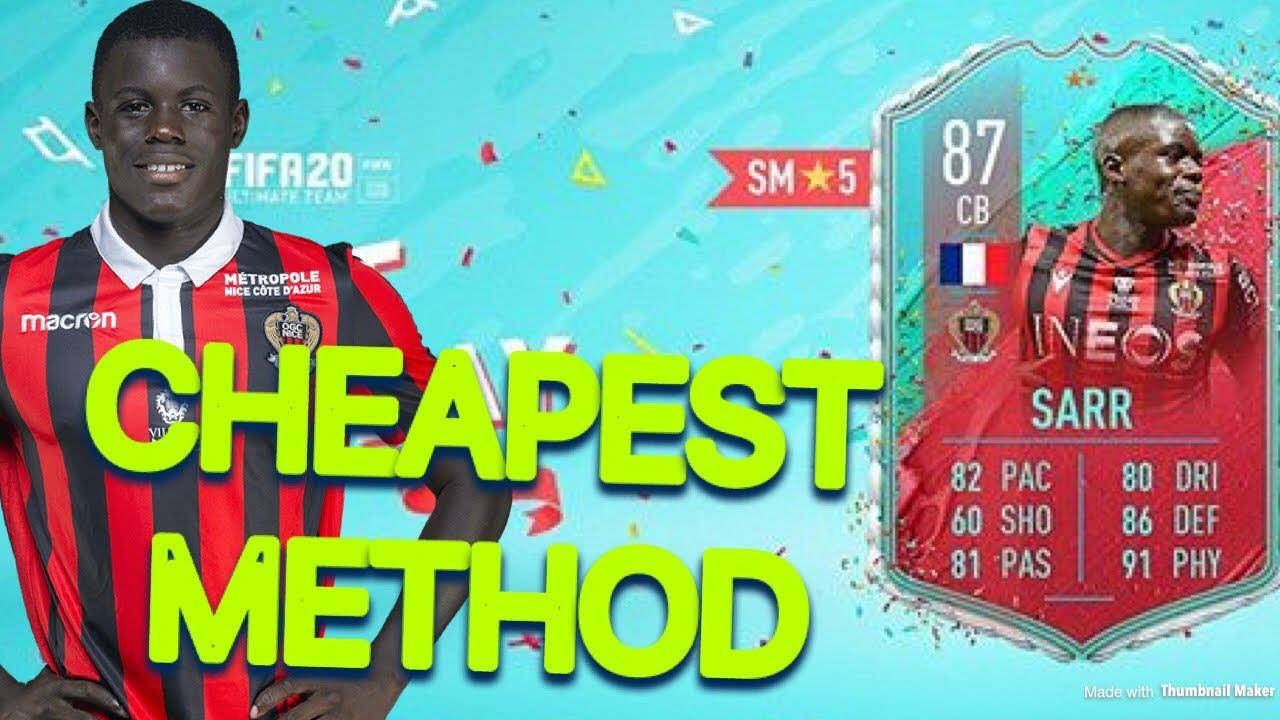 Fifa 20 Fut Birthday Malang Sarr Sbc Cheapest Method Youtube
