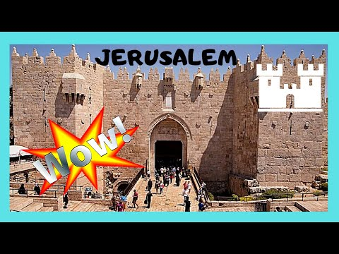 JERUSALEM: EXPLORING The WALLS Of OLD CITY, From JAFFA TO DAMASCUS GATE, Special Views