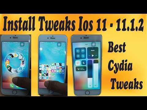 How to install cydia tweaks on ios 11-11 1 2 without computer |