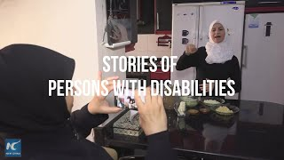 Stories of persons with disabilities