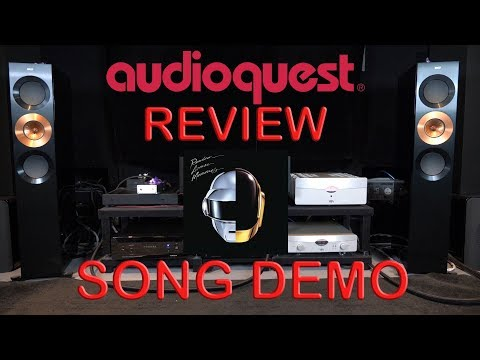 Audioquest Niagara 7000 Review + YBA Passion Song Demo Daft Punk HiFi Power Cable