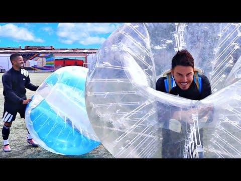 EPIC 1v1 BATTLE | BILLY WINGROVE VS JEREMY LYNCH | ZORB FOOTBALL