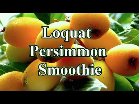loquat-persimmon-smoothie