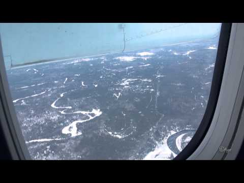 Flying From Vancouver, BC To Toronto, Timmins, ON, Canada
