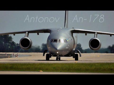 Antonov An-178 | Amazing Flying Maneuvers!