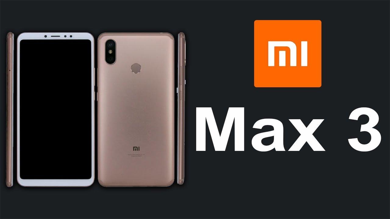 модель Xiaomi Mi Max 3