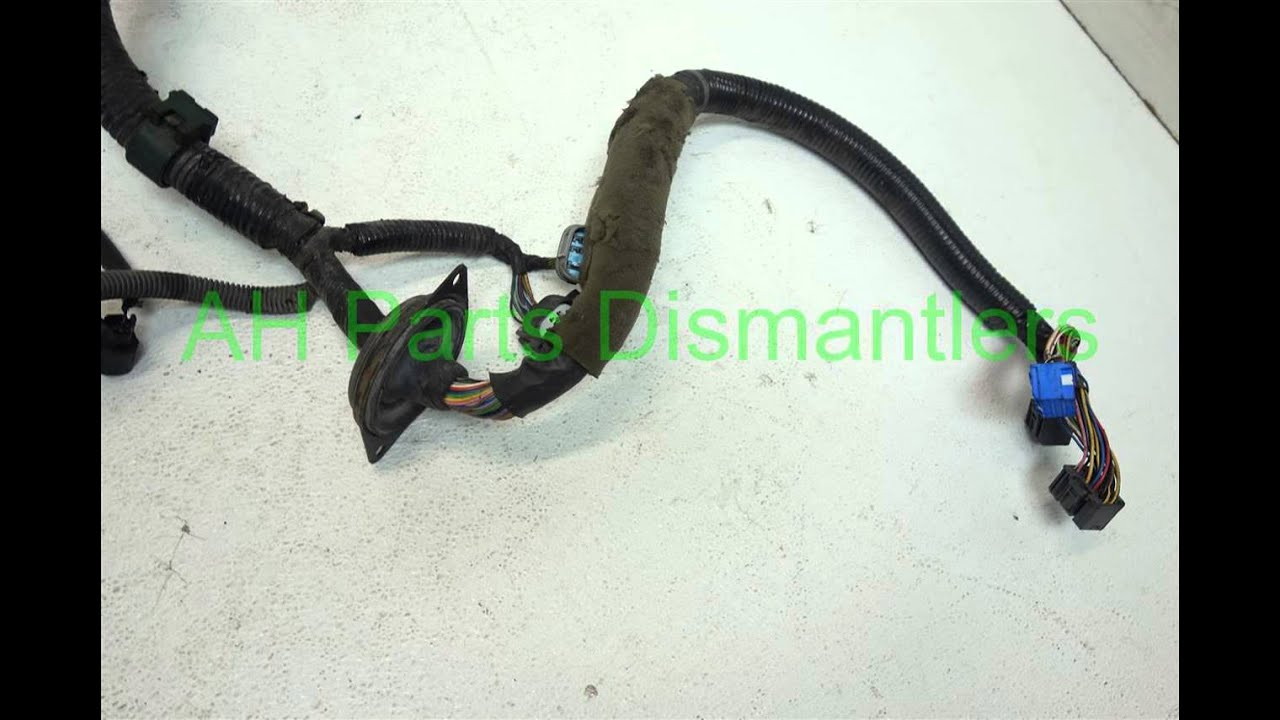 maxresdefault 2000 honda accord engine wire harness,at32110 paa a51 ahparts 93 honda accord wire harness at bayanpartner.co