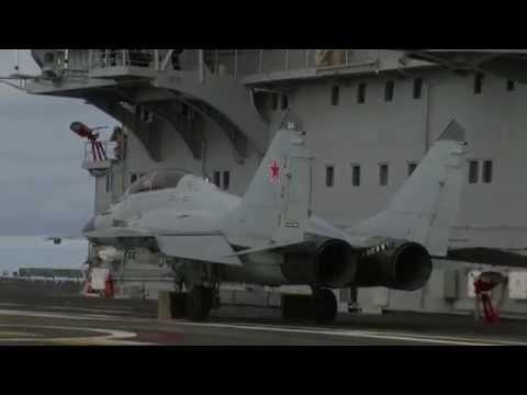 MiG-29K fighter jet pulls off extremely short takeoff