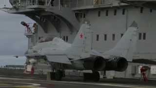 MiG-29K fighter jet pulls off extremely short takeoff