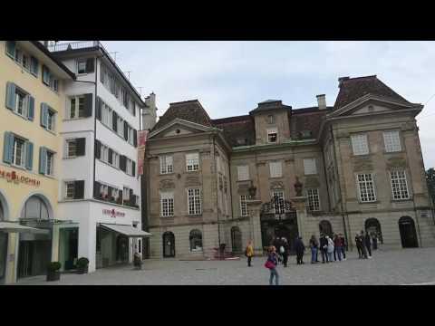 Quick Tour of the Heart of Zurich, Switzerland
