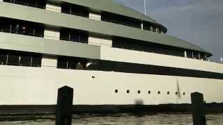 Feadship Savannah, World first hybride Superyacht 5-3-2015