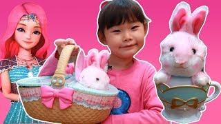 라임의 귀여운 리본토끼토리 시크릿쥬쥬 장난감 놀이 LimeTube & Toy
