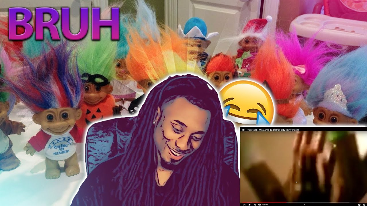 TRICK TRICK FT EMINEM - WELCOME TO DETROIT [ REACTION ] LETS PLAY A GAME..