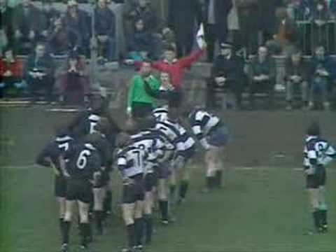 Rugby - All Blacks vs Barbarians 1973