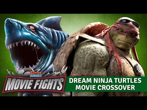 Dream Ninja Turtles Movie Crossovers   MOVIE FIGHTS Poster