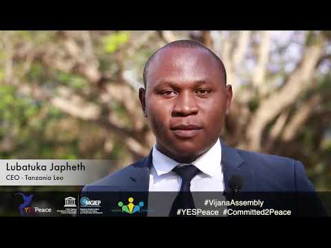 Commitment of some Youth attended the Tanzania National Youth Assembly(5)