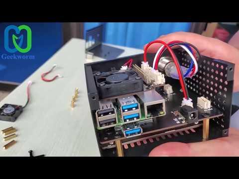 "How to Install Raspberry Pi 4 X825 V1.2 2.5"" SATA Storage Board +X825 Metal Case+ X735 Board?"