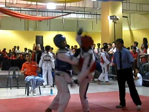 Gerard's first fight SM Batangas 10/15/11