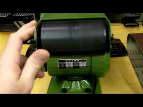 Harbor Freight Belt Sander Knife Sharpener Product Review