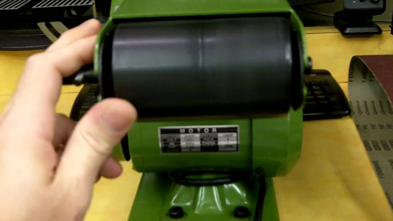 bench sander harbor freight. part 1-3 harbor freight 4x36 belt sander review and modifications - youtube bench