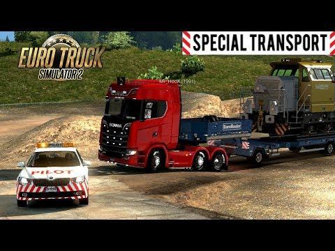 GUIDO LA SCORTA! - SPECIAL TRANSPORT MULTIPLAYER - EURO TRUCK SIMULATOR 2