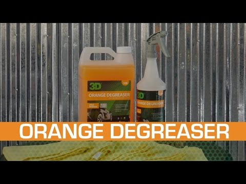 3D Products Orange Degreaser