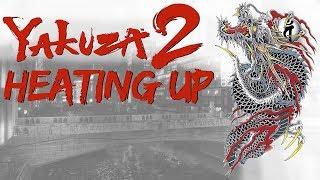 Playing Yakuza 2: Heating Up