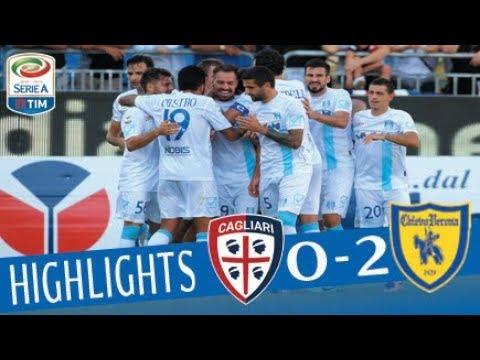 Cagliari - Chievo - 0-2 - Highlights - Giornata 6 - Serie A TIM 2017/18
