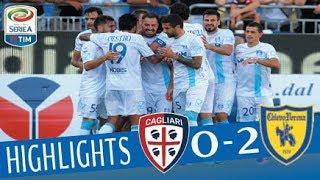 Cagliari - Chievo 0-2 - Highlights - Giornata 6 - Serie A TIM 2017/18