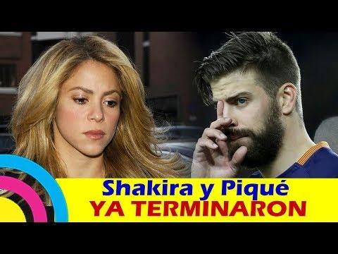 Shakira y Gerard Piqué YA TERMINARON pues aseguran que YA NO VIVEN JUNTOS
