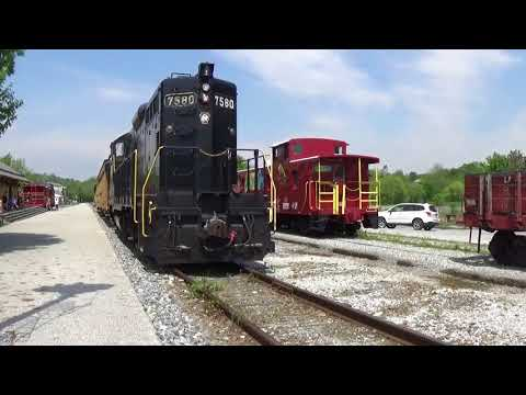 National Train Day: Steam Into History Robbery Special: Innocent Bystander Gets Into the Action!