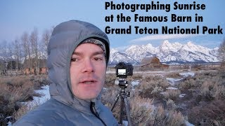 Landscape Photography at the Moulton Barn in Grand Teton National Park