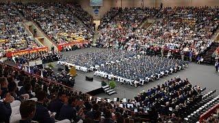 VMI Graduation Ceremony 2018