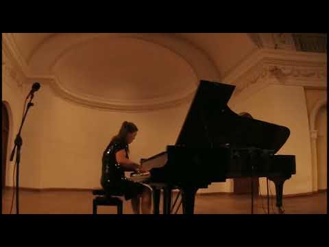 OLGA DOMNINA  Gara Garayev - Vladimir Genin :  Aisha Dance