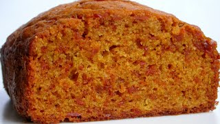 How To Make Super Soft  Carrot Cake At Home. ( Less Sugar)