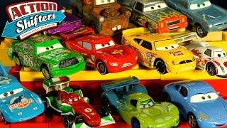 Гонки на Игрушечных Машинках из мультика Тачки. Молния Маквин. Disney Pixar Cars Collection