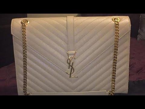 YSL Large Monogram Bag - YouTube 7c74f916dc5ea