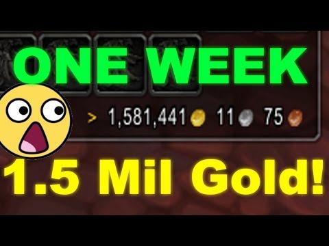 How I made 1.5mil Gold In 1 Week (Goldfarming Legion)